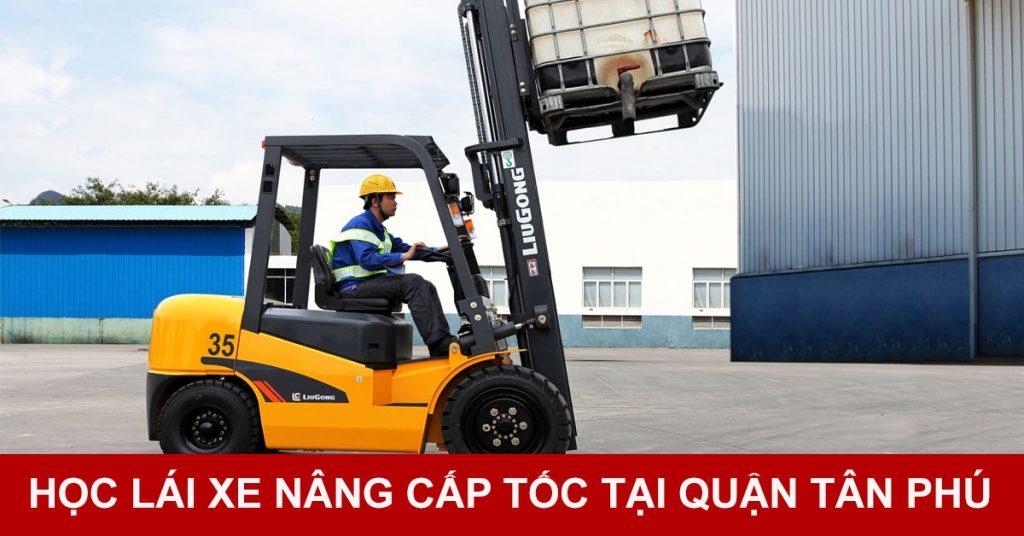 Học lái xe nâng hàng tại quận Tân Phú