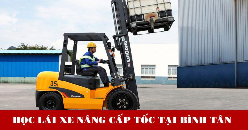 học lái xe nâng hàng tại Bình Tân