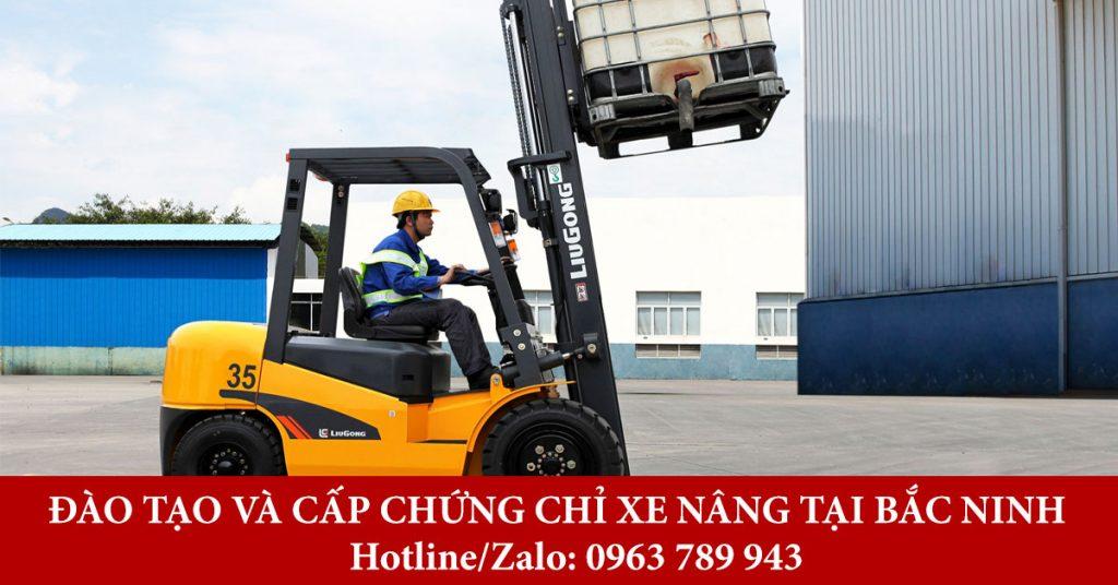 Đào tạo và cấp chứng chỉ xe nâng tại Bắc Ninh cấp tốc